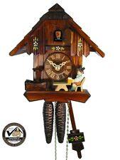 Schwarzwälder Kuckucks-Uhr/Schwarzwald-Haus 1-Tag Chalet Bier-Trinker NEU