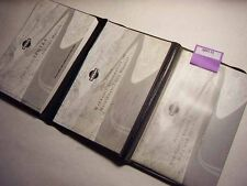 2001 Nissan Sentra Owners Manual Good Free Shipping 8895-93