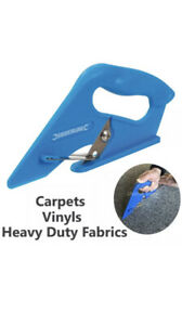 Carpet Cutter Vinyl Cutting Tool Underlay Fitting Trimmer Scissors Leather Lino