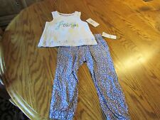 Juicy Couture 2 piece Outfit Shirt Pants Toddler Girl Size 2T NWT $64.50
