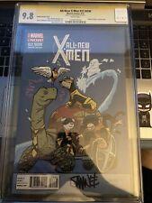 All-New X-Men 22.NOW CGC 9.8 3/14 1X Auto Chris Samnee, Very ,Very Rare {CGCB3}