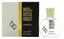 ALYSSA ASHLEY MUSK PERFUME OIL 15ML - WOMEN'S FOR HER. NEW. FREE SHIPPING