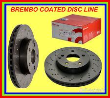 2 x Brembo Sport Bremsscheiben Gelocht VA MERCEDES-BENZ C-KLASSE Kombi S203