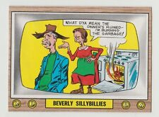 1969 TOPPS CRAZY TV BEVERLY SILLYBILLIES CARD #30 FINISHED TEST ISSUE NEAR MINT