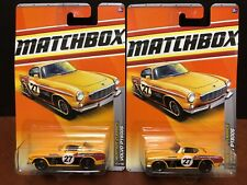 Matchbox Volvo P1800S #17 Lot Of 2 EM2402
