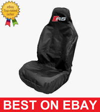 Audi RS Car Seat Cover Protector for Bucket Seats - Audi RS3 RS4 RS5 RS6 RS7 NEW