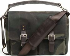 Brand New ONA Prince Street Camera Messenger Bag, Camouflage Waxed Canvas  27065