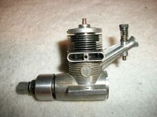 Gilbert American Flyer Thunderhead .11 Model Airplane Engine Gold Anodized Used