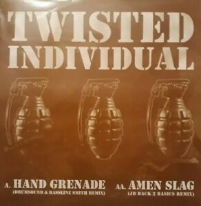 "Twisted Individual-Hand Grenade/Amen Slang 12"" Single.2003 Grid 022.Electronic."
