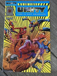 Unity #1 Platinum Logo (Valiant, 1992) NM+ 9.6