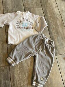 Dirkje Baby Wear Sportanzug Jungen Grösse 62 Grau