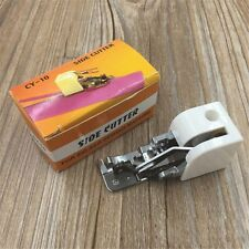 Side Cutter Overlock Sew Attachment Accessory Presser Foot For Low Shank