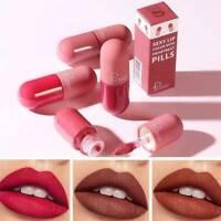 Pudaier Lip Tint Sexy Matte Lip Gloss Waterproof Long Lasting Liquid Lipstick AU