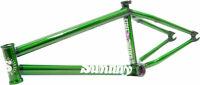 """Sunday Street Sweeper BMX Frame -  20.5"""" TT, Translucent Slimer Green"""