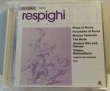 Respighi: Pini di Roma; Fontane di Roma; Fest romane; Trittico botticell(cd6861)