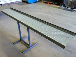 BOX TRAILER SIDES 8FT LONG 2.1MM CHEQUERPLATE SUIT 8X4 8X5