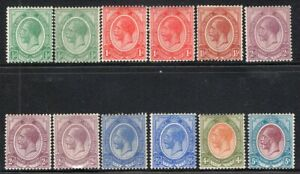 SOUTH AFRICA 1913/24 STAMP Sc. 2/6, 9 AND 14 MH INCLUDED 2a, 3a, 5a, 5b, 6a
