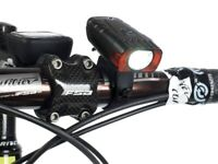 Faretto LED PNK USB alta luminosità 200 LUMEN+SENSORE Luce Bici bicicletta