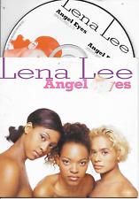 LENA LEE - Angel eyes CD SINGLE 2TR Happy Hardcore 1995 Dutch Cardsleeve RARE!