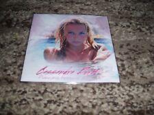 """Cassandra Foret rare cd single promo 4 remixes """"premiers frissons d'amour"""""""
