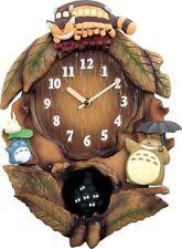 TOTORO rhythm Clock Wall Clock My Neighbor Totoro studio Ghibli from japan