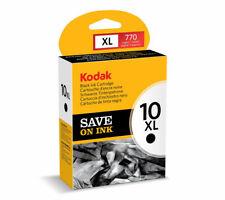 NEW Genuine OEM Kodak 10XL Black High Yield 770 Page Ink Cartridge (8237216)