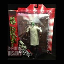MUNSTERS Select HOT ROD GRANDPA Figure with STAIRCASE Diorama Piece DST!