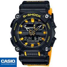 CASIO GA-900A-1A9ER⎪ORIGINAL⎪G-SHOCK Classic⎪HOMBRE⎪NEGRO-AMARILLO