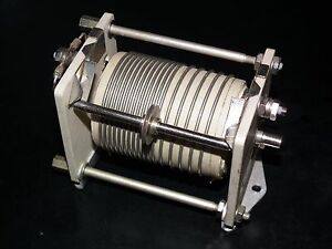 Variable Roller Inductor Coil - JOHNSON 10uH - LINEAR AMPLIFIERS ANTENNA TUNERS