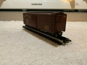 Unknown Maker Northern Pacific (NP) Wood Sheathed Boxcar  American OO Scale