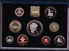 More details for boxed 1999 royal mint uk standard proof set of 9 coins with certificate