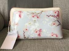 Ted Baker Oriental Blossom Large Wash Bag Light Grey