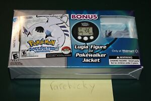 Pokemon SoulSilver Walmart Bundle w/Lugia (Nintendo DS) NEW SEALED, NM, RARE!