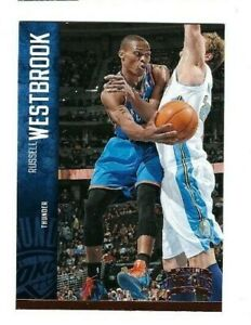 RUSSELL WESTBROOK 2012-13 Panini Threads Basketball Card #99