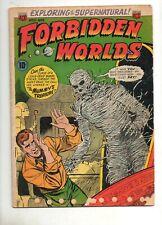 Forbidden Worlds #11 1952 ACG; VG- 3.5 Complete Horror Reader! Elizabeth Bathory