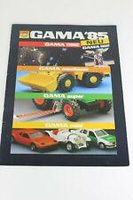 Gama Kollektion Modell 1985 Catalogue Catalog Katalog Catalogo