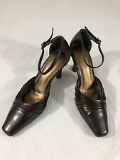 Life Stride Style: Amber; Color: Brown Slingback Heels Shoes Size 7M