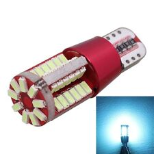 2PCS T10 5W 285LM Ice Blue Light 57 SMD 4014 LED Error-Free Canbus Car Clearance