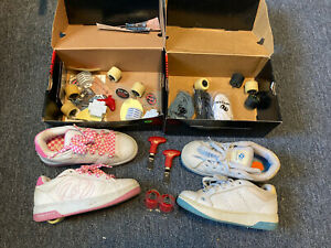 Heelys For Girls Size 4 , Lot Of Two
