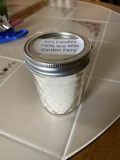 Garden Fairy  Well Scented Candle Homemade Soy Wax