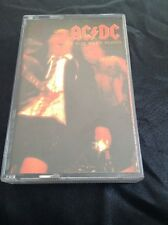 AC/DC IF YOU WANT BLOOD CASSETTE TAPE FULL ARTWORK AUSTRALIA ALBERT PRODUCTIONS