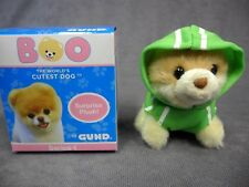 Gund * Itty Bitty Boo Blind Box - Green Hoodie Sweatshirt * Dog Puppy Mini Plush