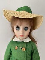 "Vintage Madame Alexander Maggie Schoolgirl 17"" Doll All Original Clothing"