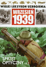 POLISH ARMY OPTICAL EQUIPMENT - PART 1 - September 1939 - BOOK IN POLISH