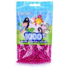 1000 Perler Raspberry Color Iron On Fuse Beads 80-19088