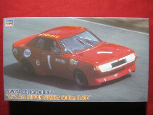 1972 Toyota Celica 1600GT All Nippon Suzuka 500km Race 1/24 Hasegawa Kit Japan