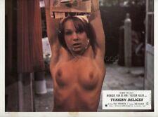 SEXY MONIQUE VANDE VEN PAUL VERHOEVEN TURKS FRUIT 1973 VINTAGE LOBBY CARD #12