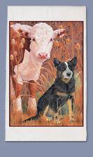 Australian Cattle Dog Dish Towel