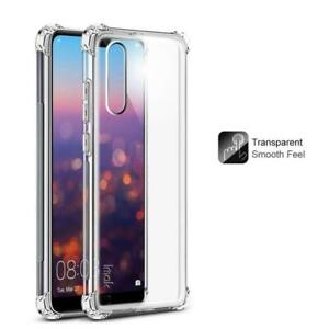 Shockproof Case Cover For Huawei P20 Pro P20 Lite Clear TPU Tough Transparent