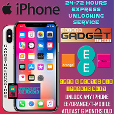 UNLOCK CODE SERVICE FOR iPhone 7 Plus 6 Plus SE 5S 5C 6S EE ORANGE T-MOBILE UK